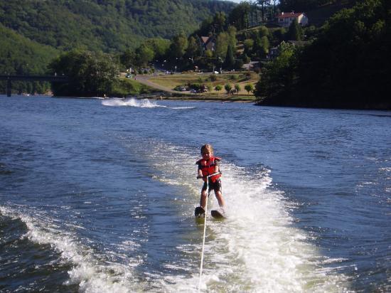 Bi-ski à 5 ans