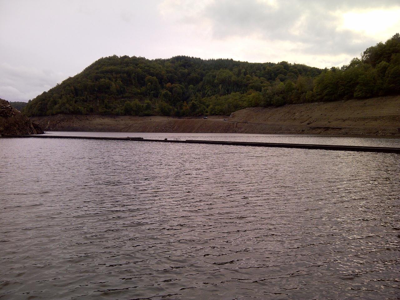 Vu de l'ancien barrage englouti 2